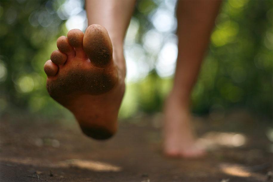 Barefoot running: correre a piedi nudi